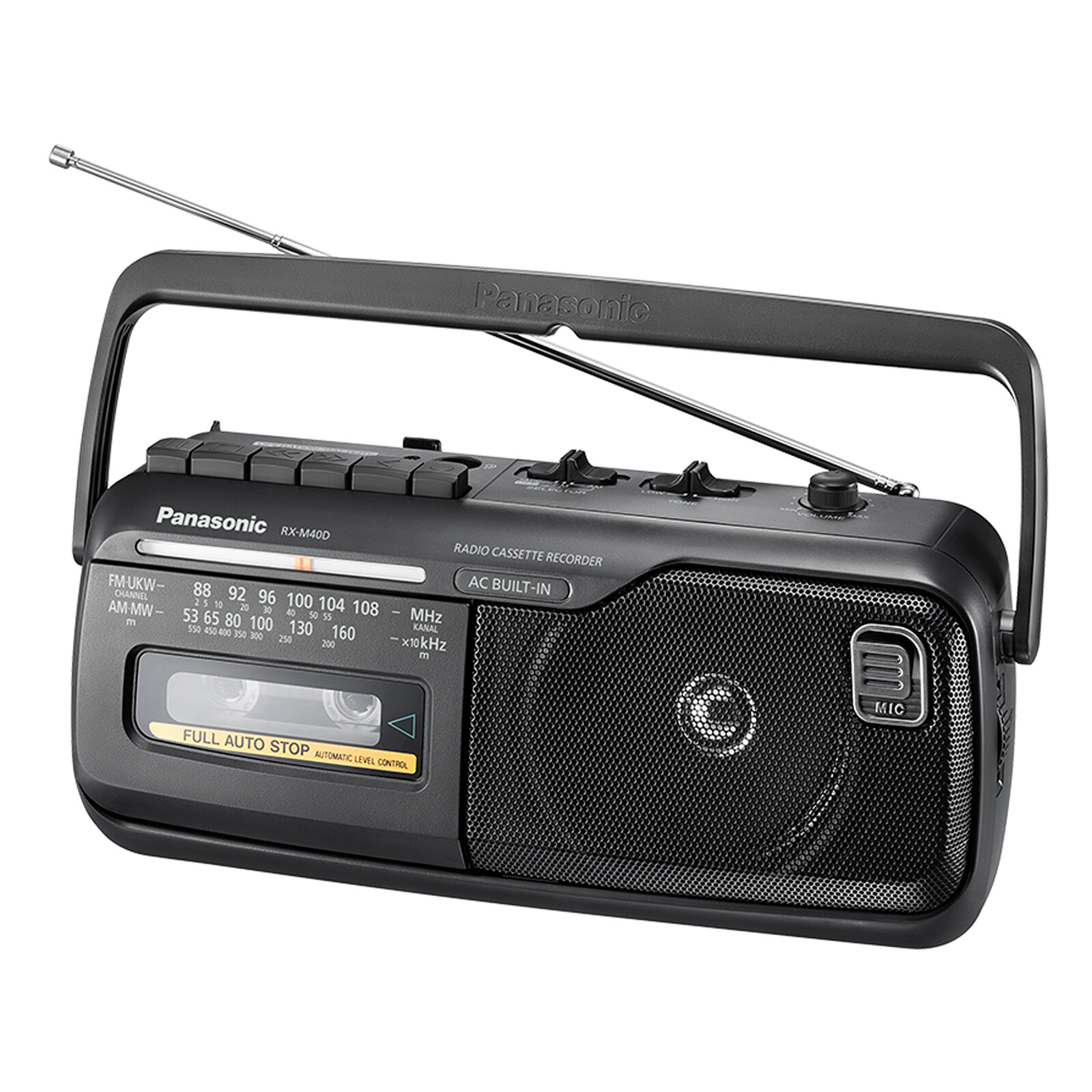 Panasonic RX-M40DE-K Radiorecorder