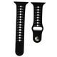 Mika Uhrenarmband Apple 42/44mm Silikon schwarz/weiß