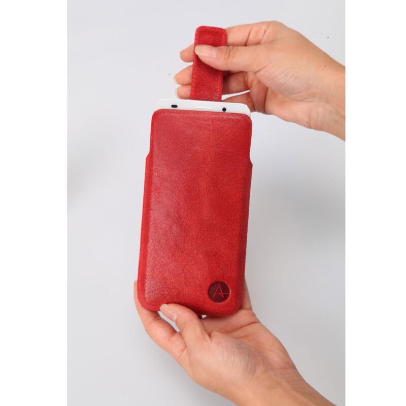 Axxtra Tasche Slide Pocket Size L rot