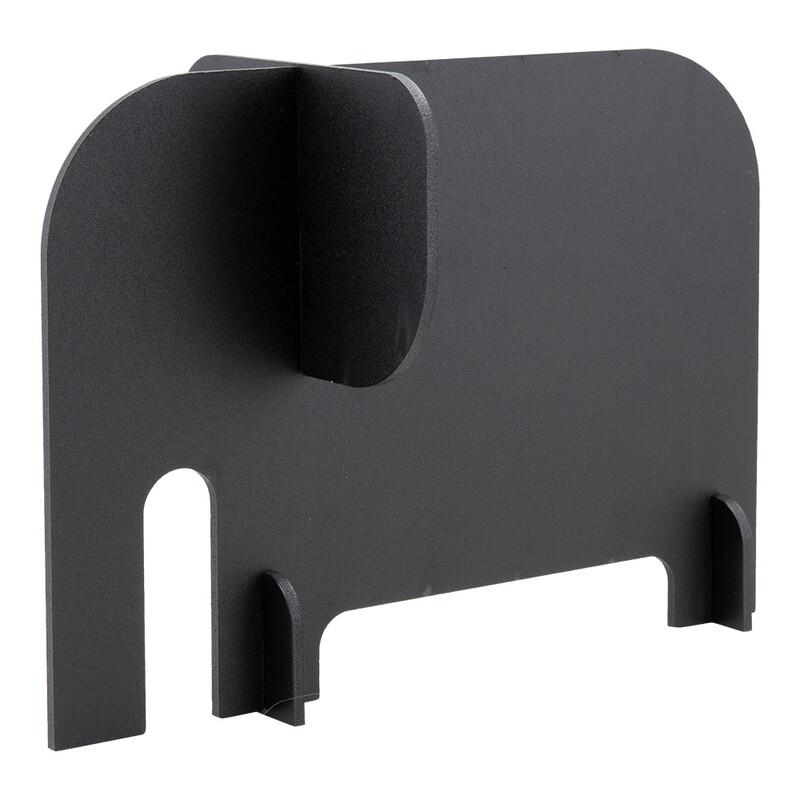 Securit 3-D Tier Elephant Schwarz