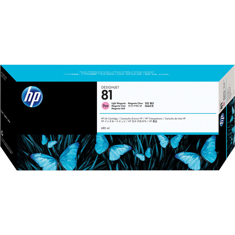 HP 81 C4935A Tinte light magenta 680ml