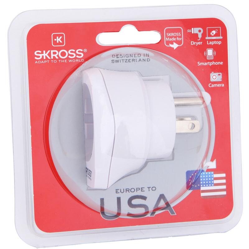 Skross Europe to USA V2 Reiseadapter