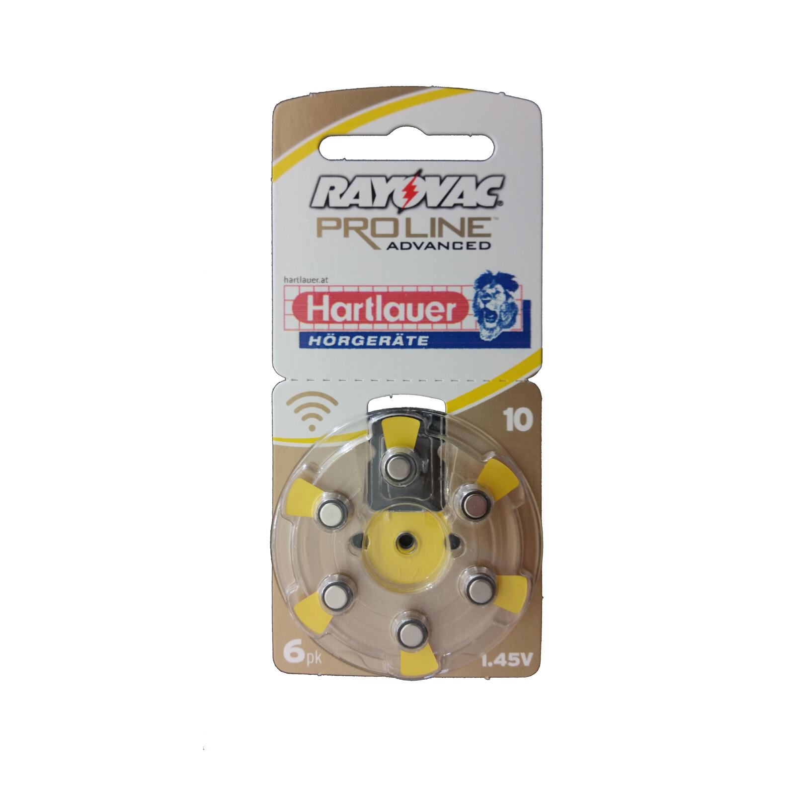 Rayovac 10 Ultra Proline MF 6er, 60 Stk. 10er SET 50% Aktion