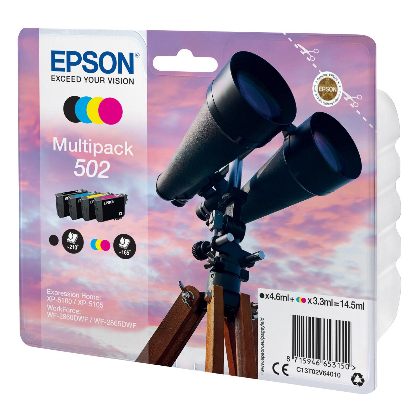 Epson 502 Tinte Multipack