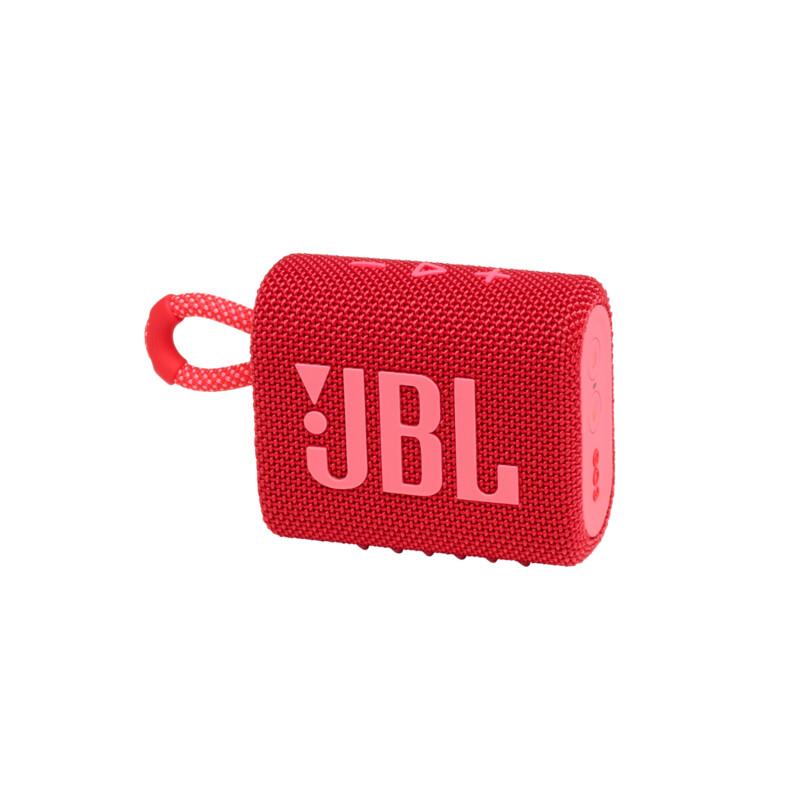 JBL Go3 Bluetooth Lautsprecher Rot