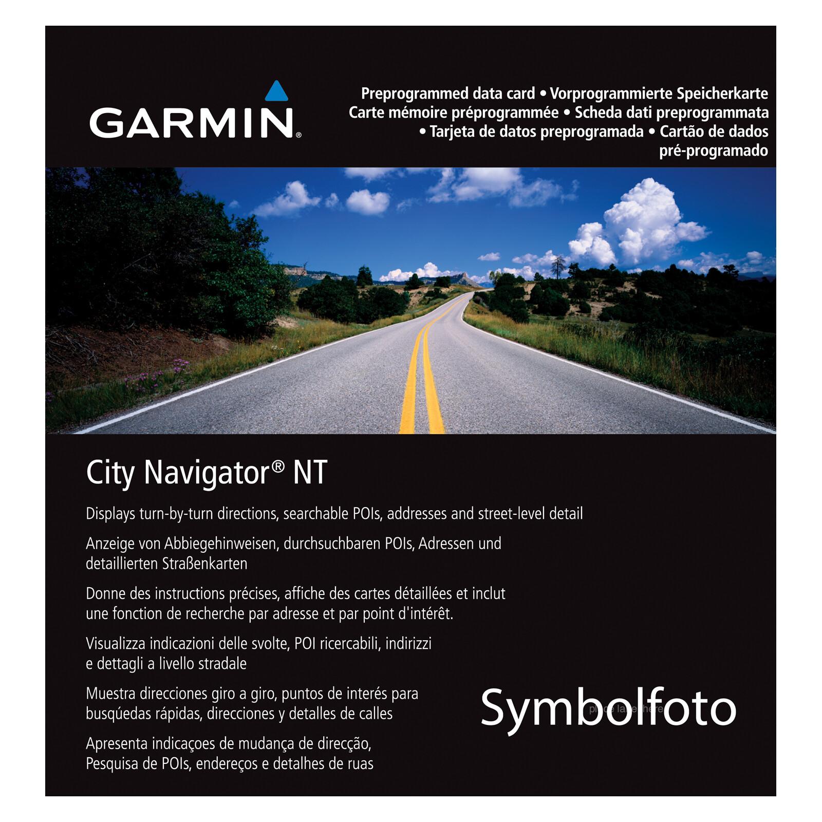 Garmin City Navigator Middle East & Northern Africa