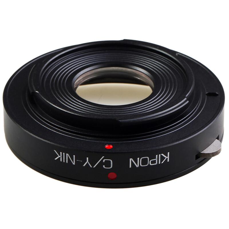 Kipon Adapter für Contax / Yashica auf Nikon F