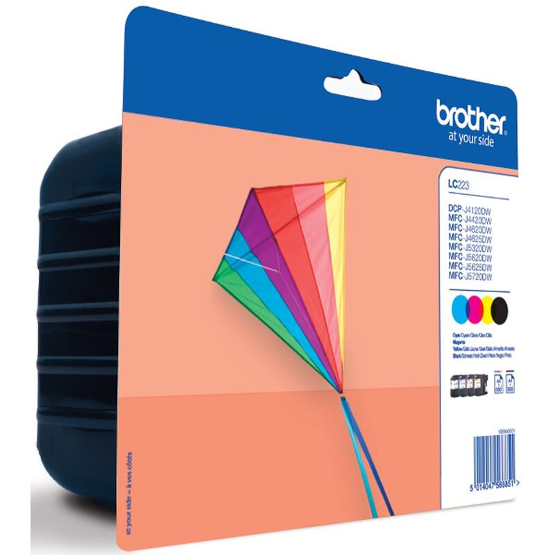 Brother LC 223 Tinte BK/C/M/Y
