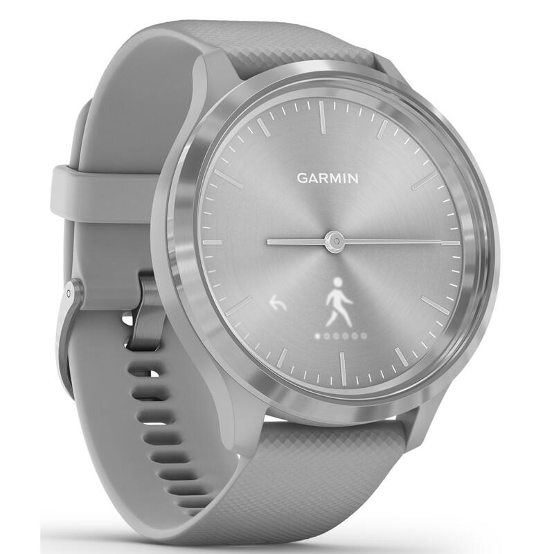 Garmin Vivomove 3 Sport 44mm Silber/Grau