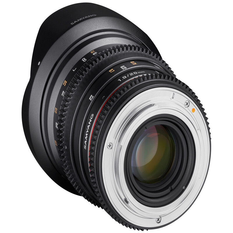 Samyang MF 20/1,9 Video DSLR Nikon F