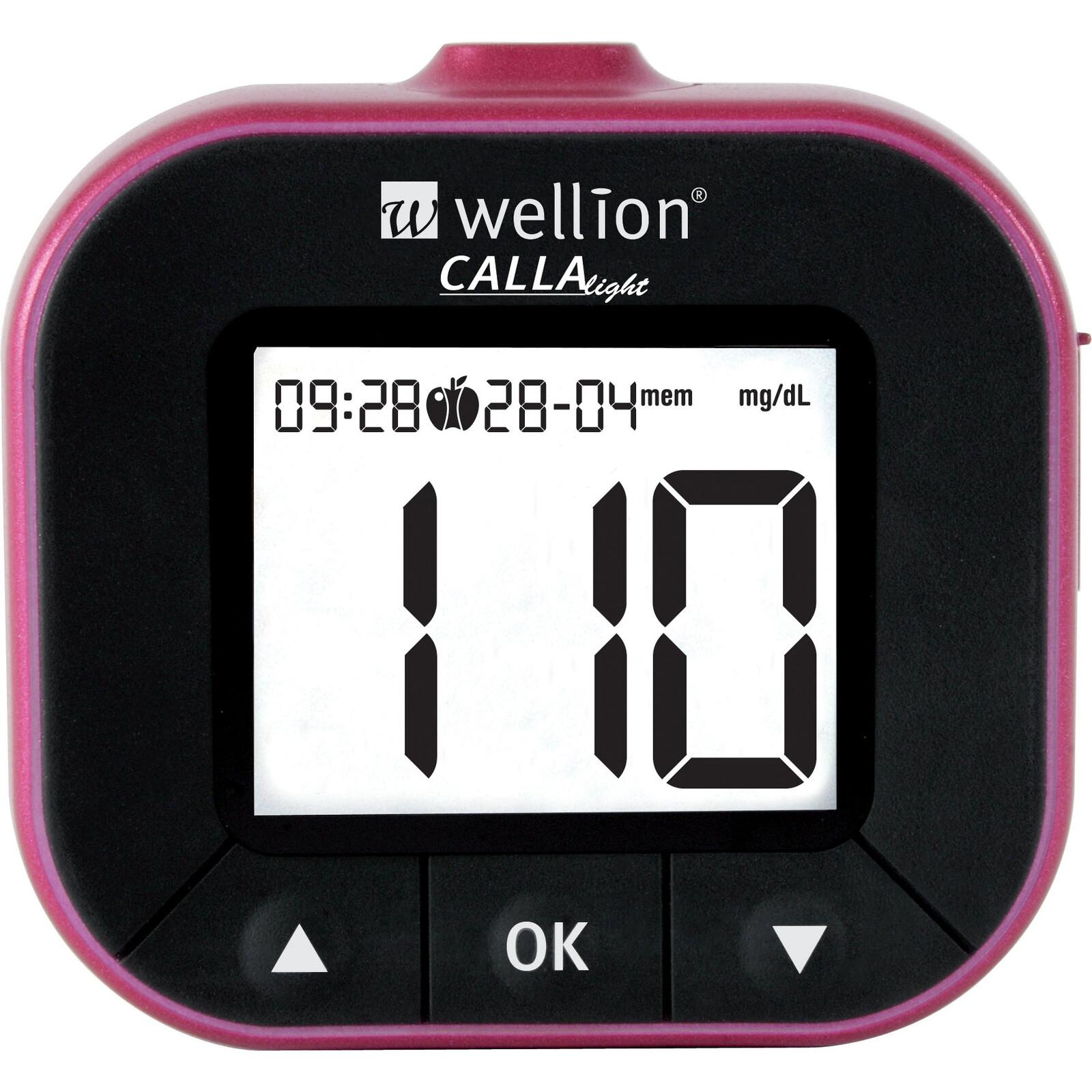 Wellion CALLA Light Set 50 TS blackberry Blutzuckermessgerät