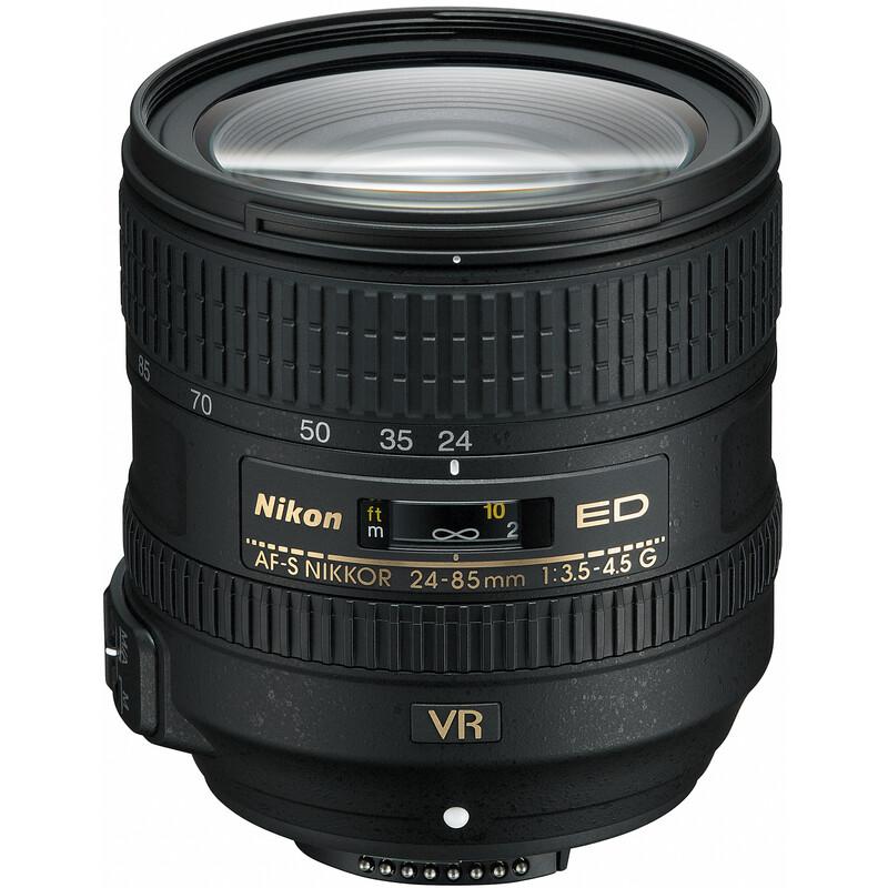 Nikkor AF-S 24-85/3,5-4,5G ED VR + UV Filter