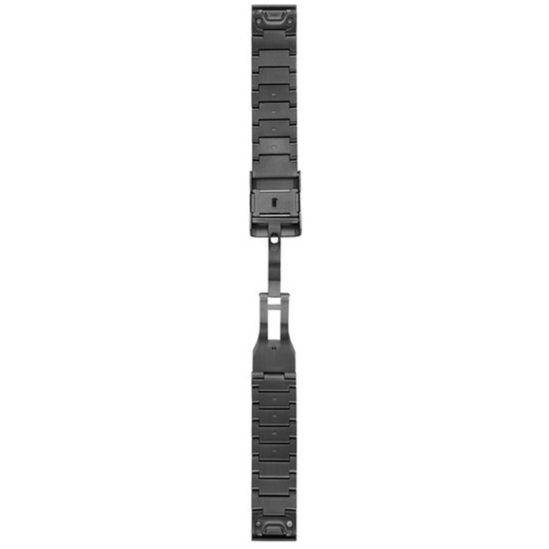 Garmin QuickFit 22 Uhrenband DLC-Titan Grau