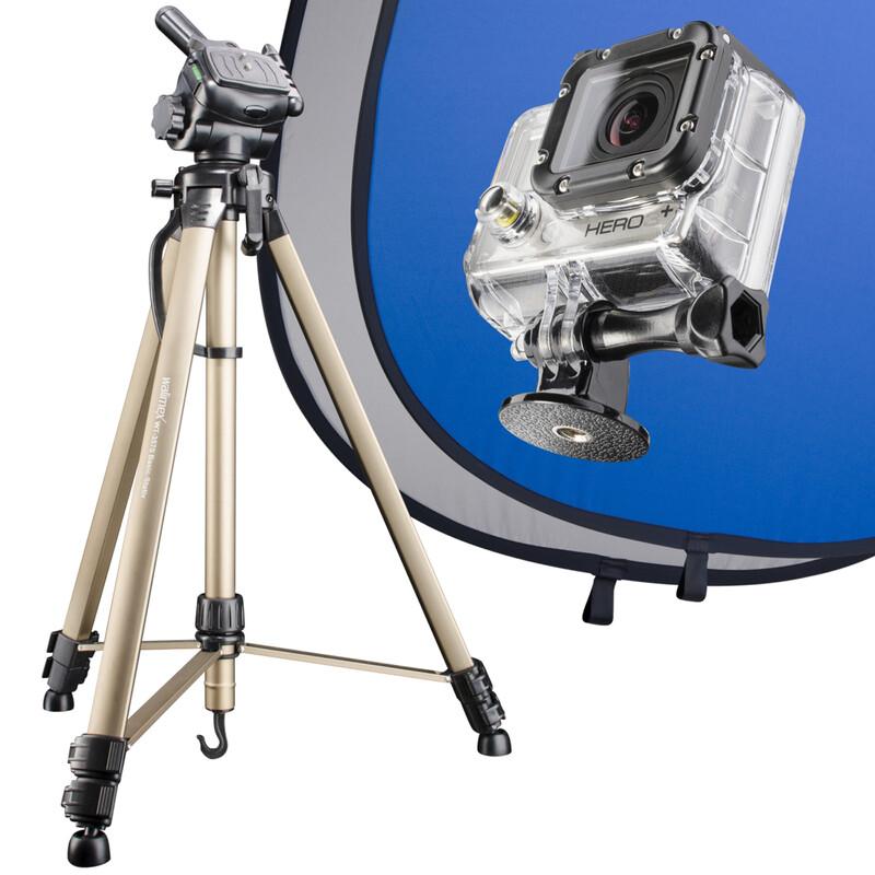 Mantona 20487  Set Blue Screen für GoPro