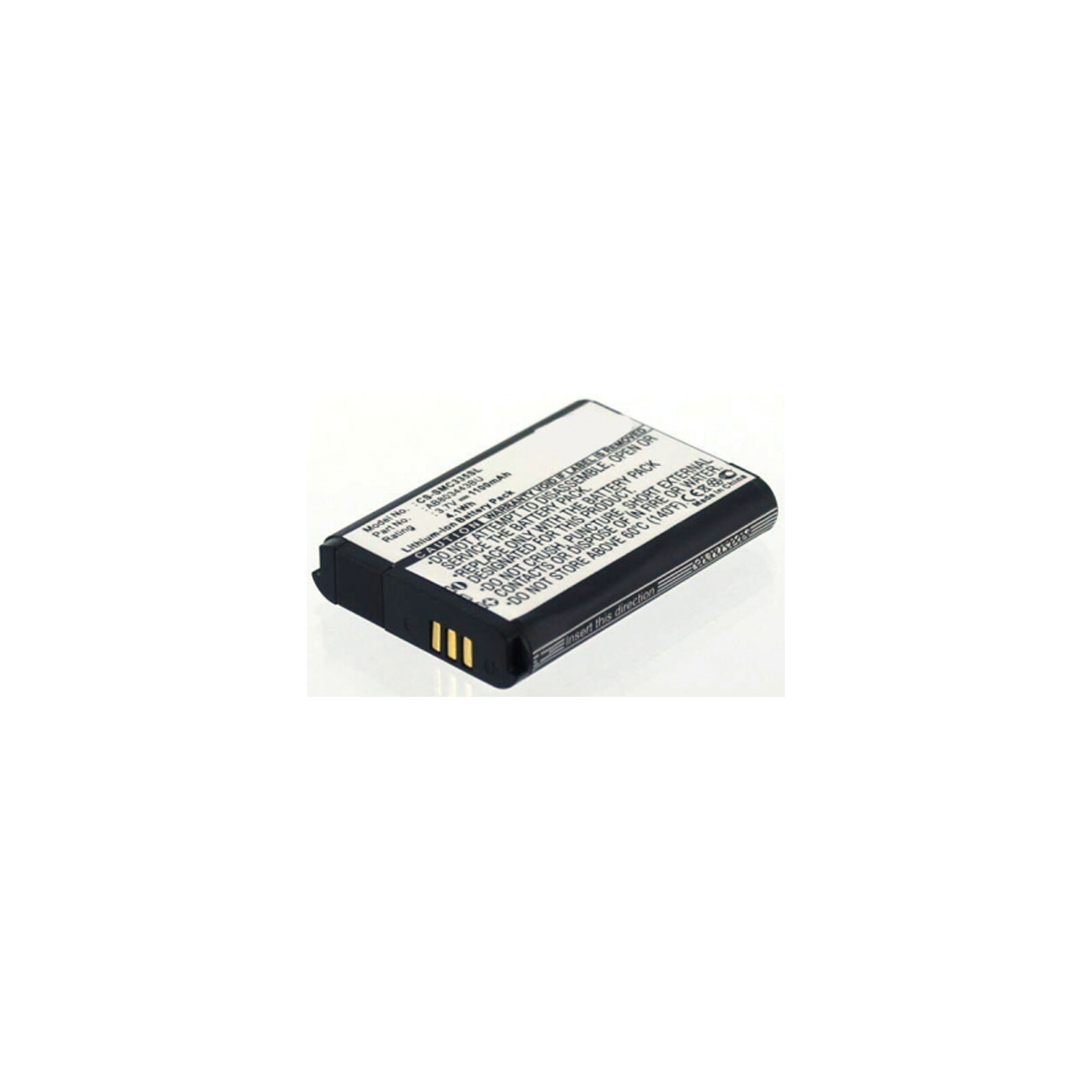 AGI Akku Samsung C3350 1.100mAh