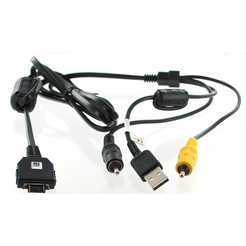 AGI 43761 USB-/AV-Verbindungskabel Sony DSC-W70