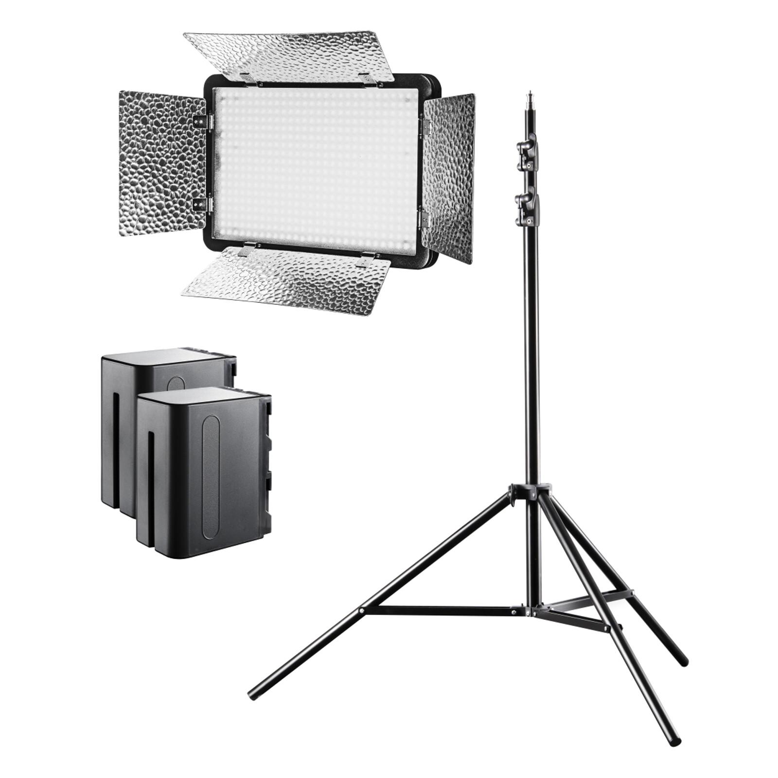 walimex pro LED 500 Versalight Daylight Set1 Akku
