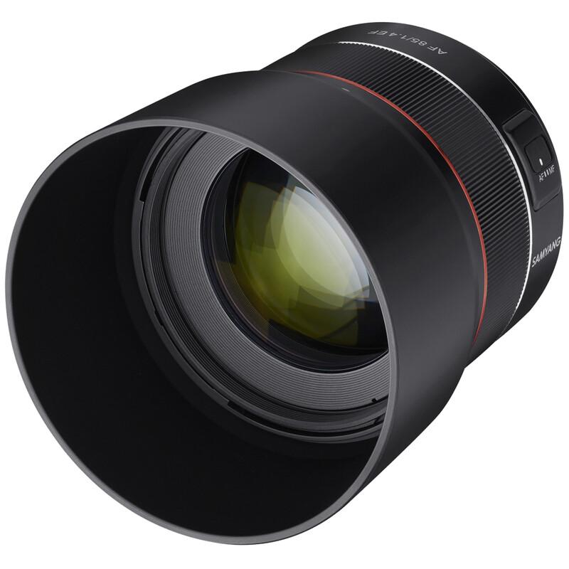Samyang AF 85/1.4 Canon EF + UV Filter
