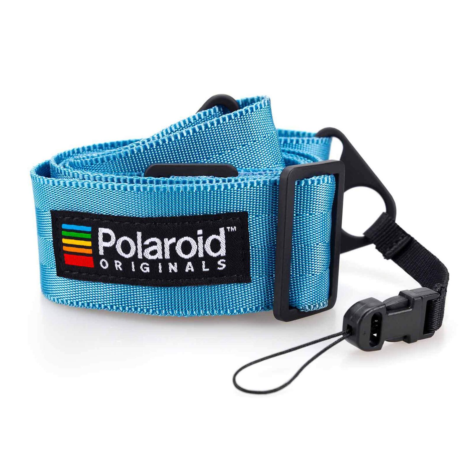 Polaroid Camera Strap Flat Blau