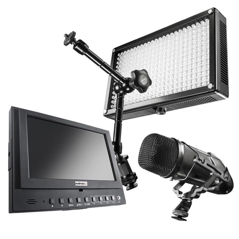 walimex pro Video Zubehör Set Professional