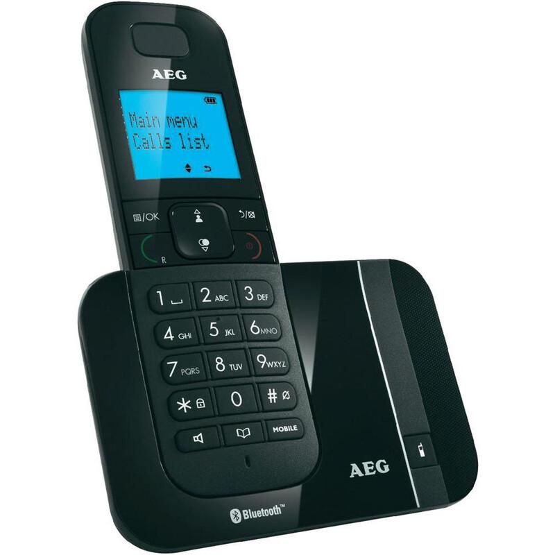 AEG Voxtel D550 Bluetooth schwarz
