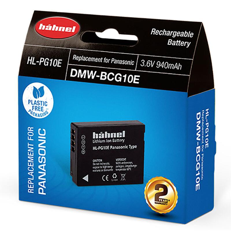Hähnel Panasonic DMW-BCG10E Akku