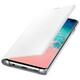 Samsung Book Tasche LED View Galaxy S10 weiß