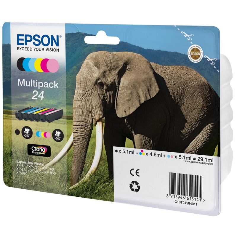 Epson 24 T2428 Tinte Multipack