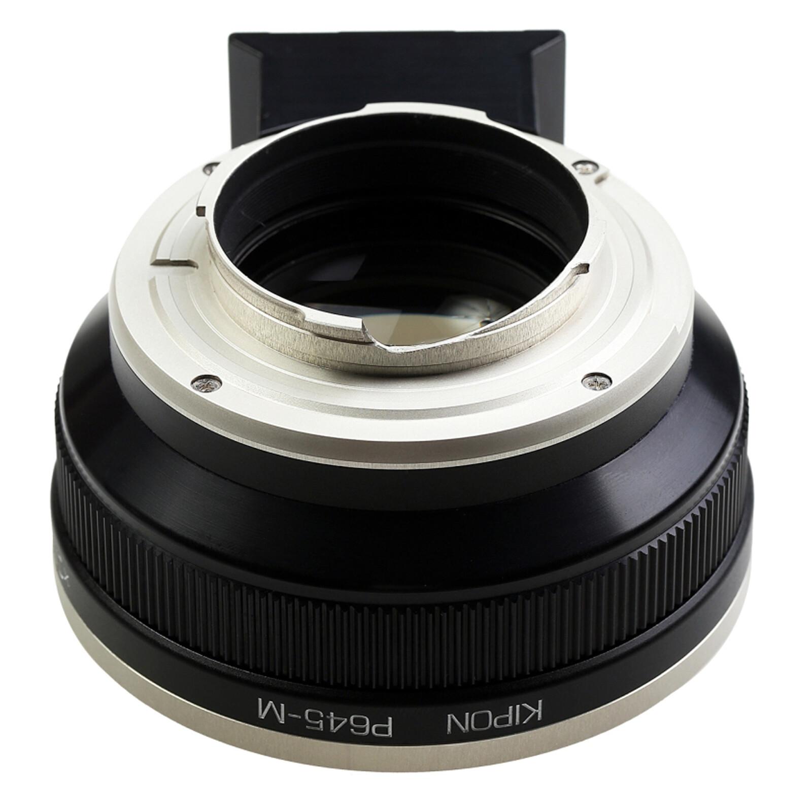 Kipon Baveyes Adapter Pentax 645 auf Leica M (0.7x)