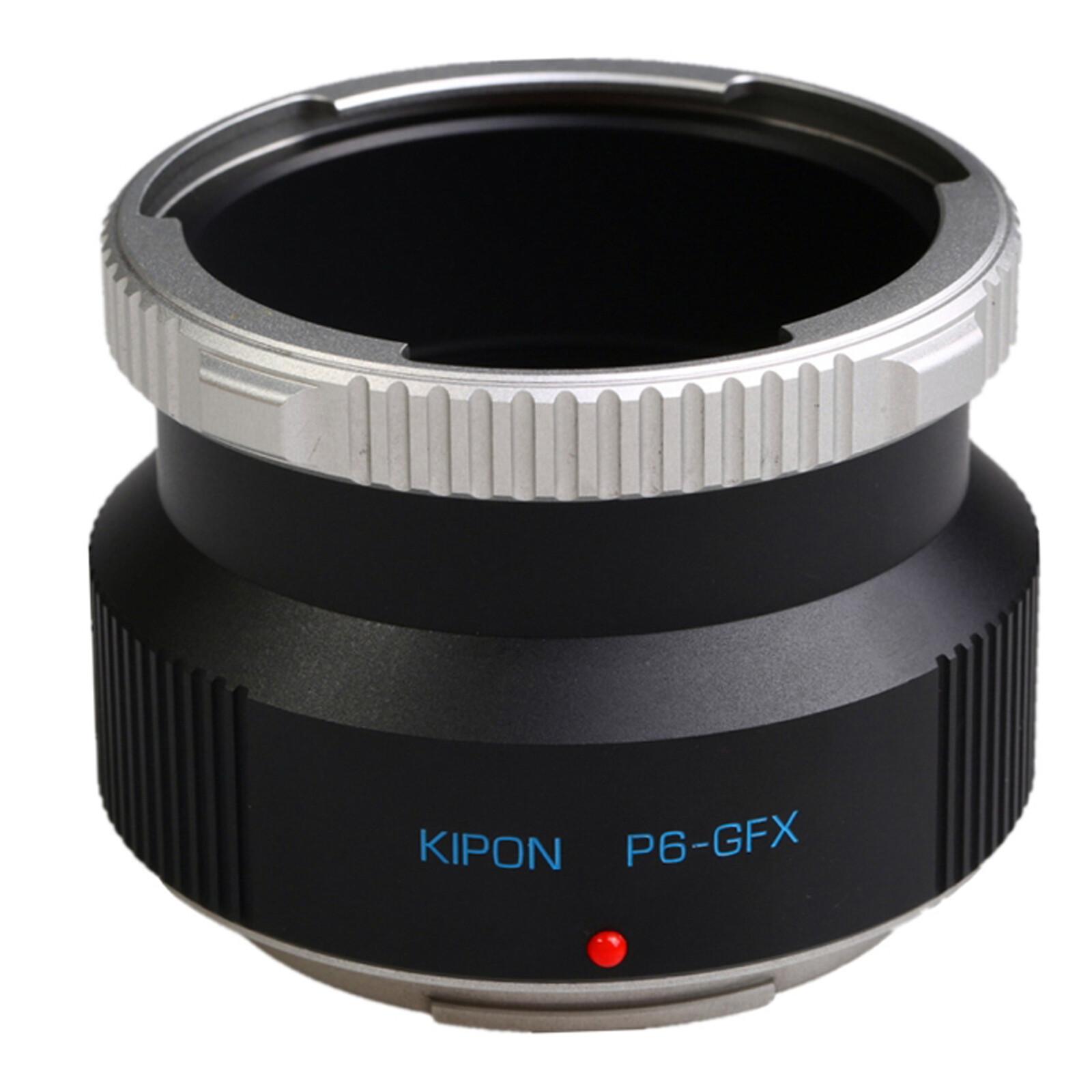 Kipon Adapter für  Pentacon 6 auf Fuji GFX