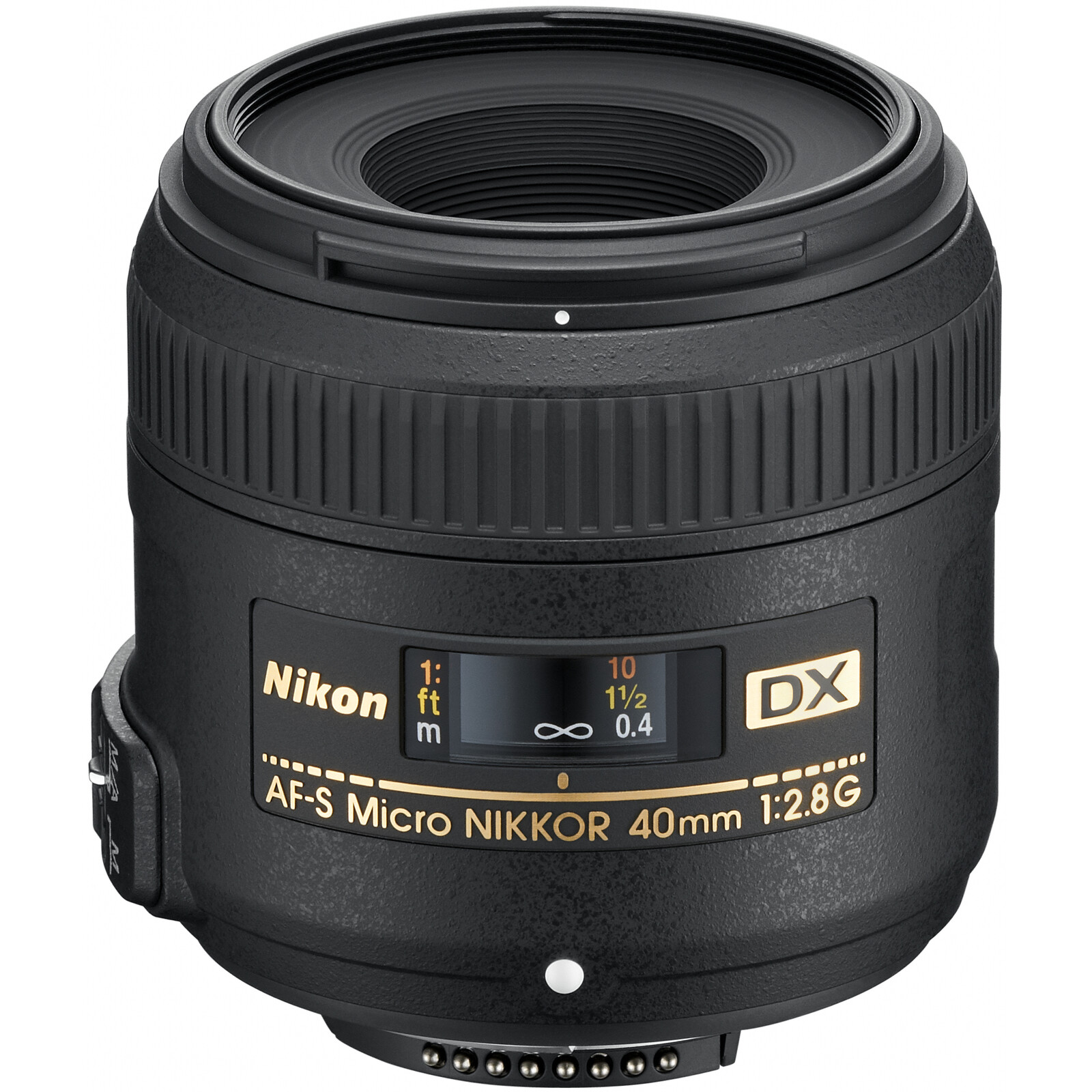 Nikkor AF-S DX 40/2,8G Mikro + UV Filter
