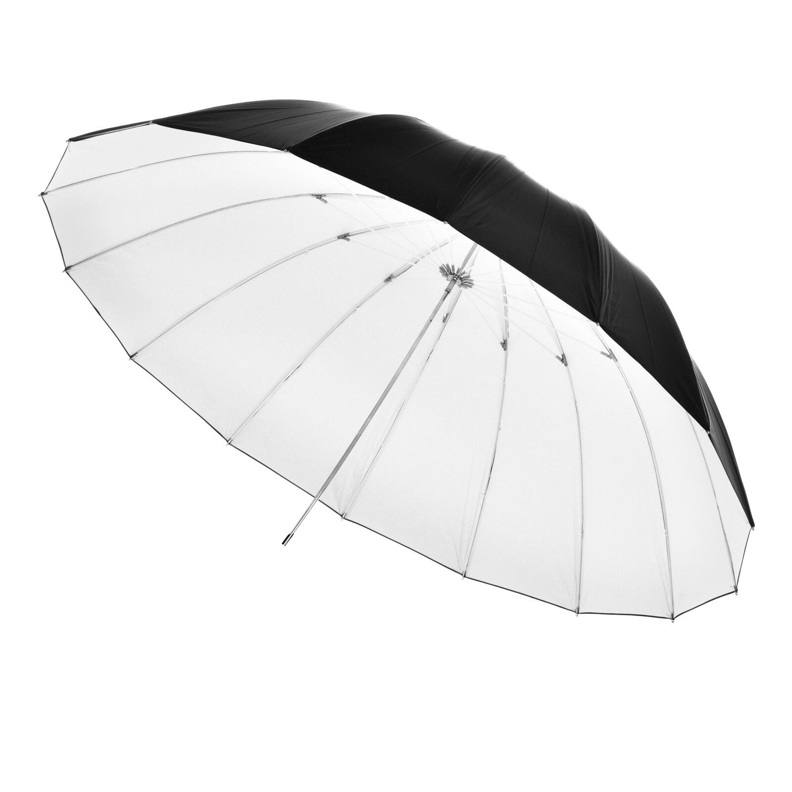 walimex Reflexschirm schwarz/weiß, 150cm