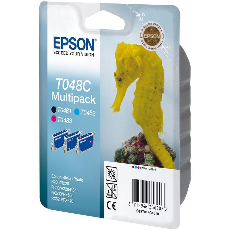 Epson T048C Tinte Multipack