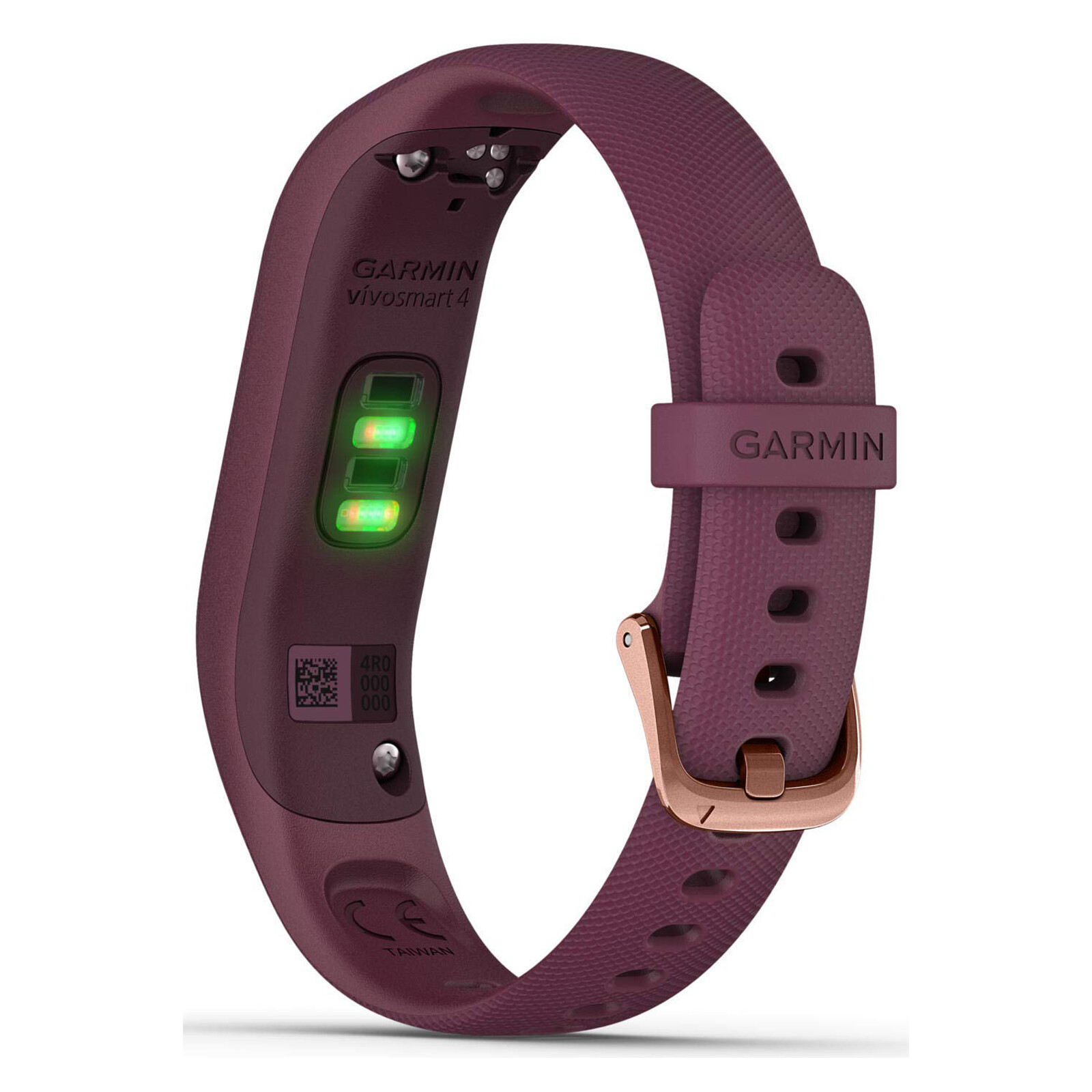Fitness-Tracker Garmin Vivosmart 4 S/M Dunkelrot/Rosegold