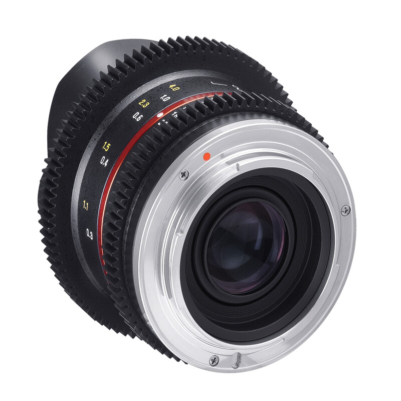 Samyang MF 8/3,1 Fisheye Video Samsung NX