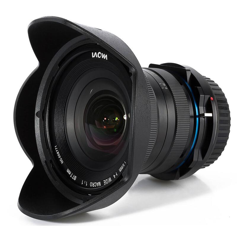 LAOWA 15/4,0 Makro 1:1 Shift Sony A + UV Filter
