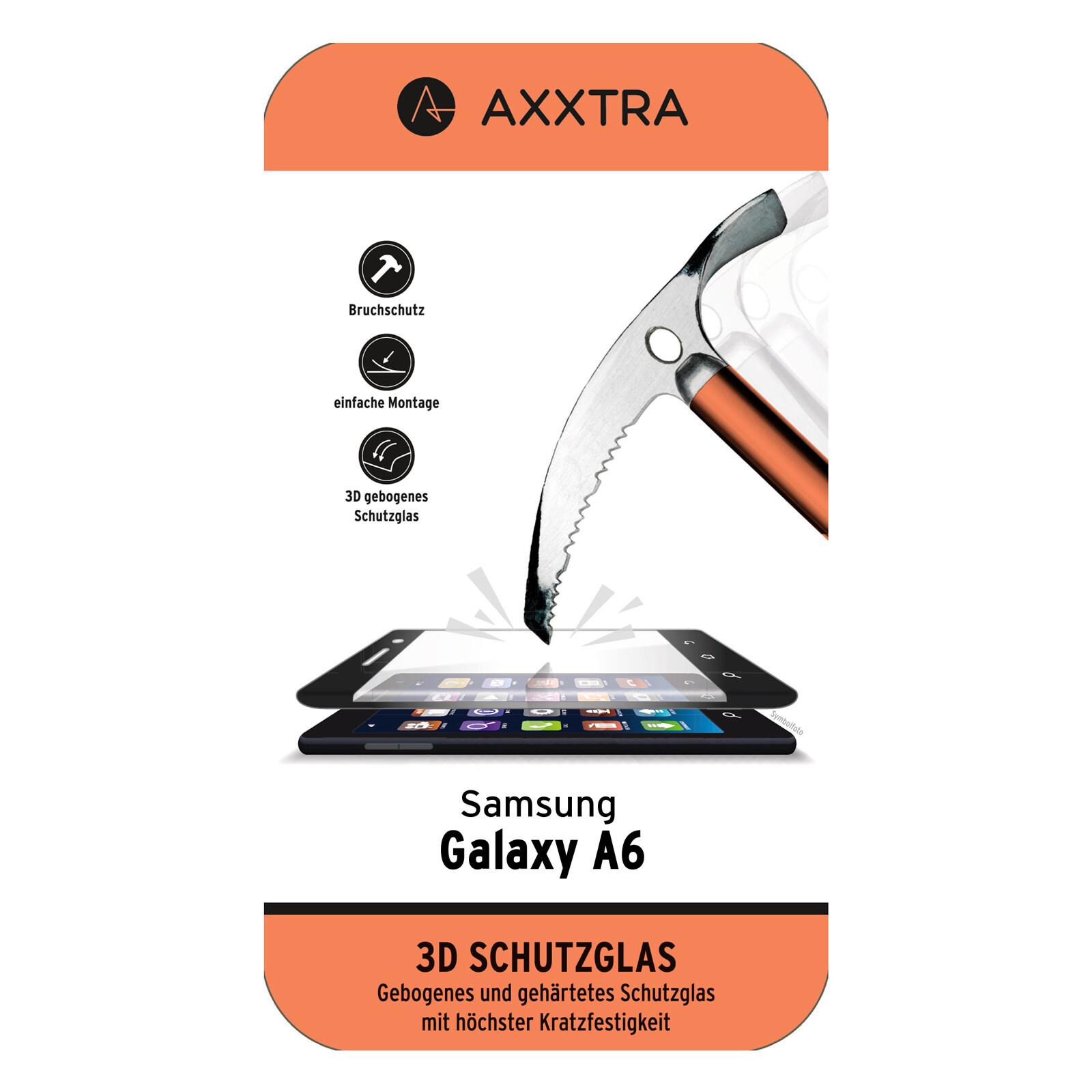 Axxtra Displayschutzglas Samsung Galaxy A6