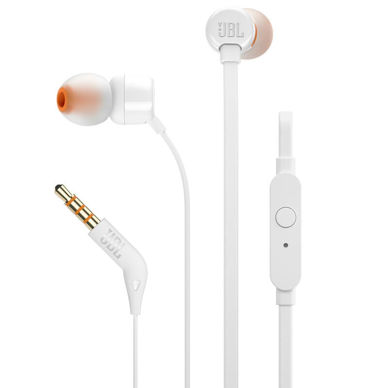 JBL T110 In-Ear Kopfhörer Weiß