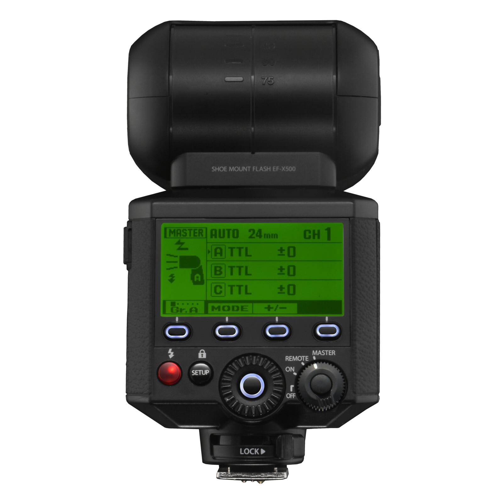 Fujifilm EF-X500 TTL Blitz