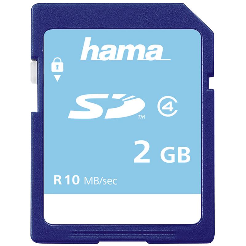 Hama SD 2GB C4 10MB/s