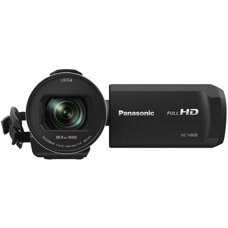 Panasonic HC-V808EG-K Full HD Camcorder