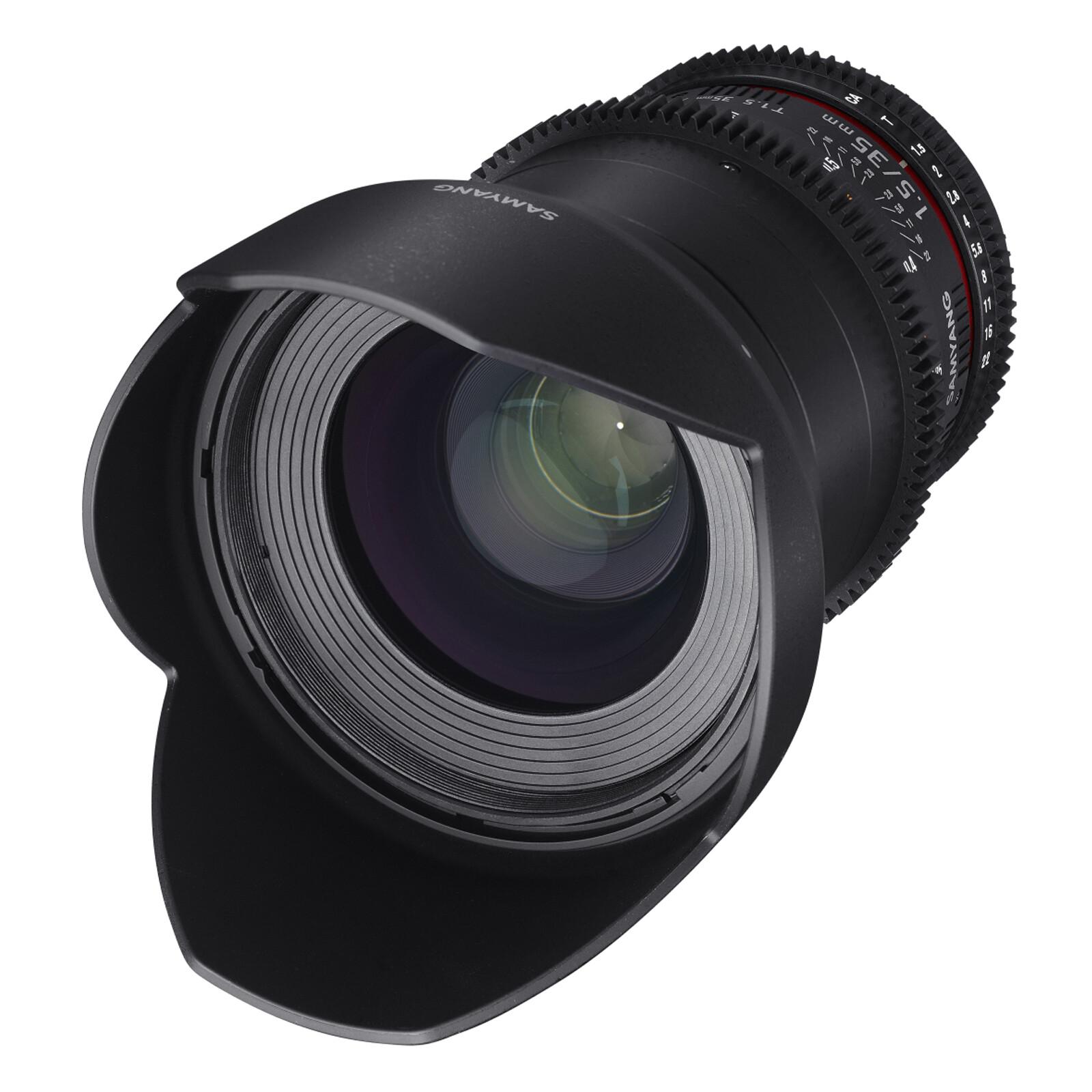 Samyang MF 35/1,5 Video DSLR II Sony E