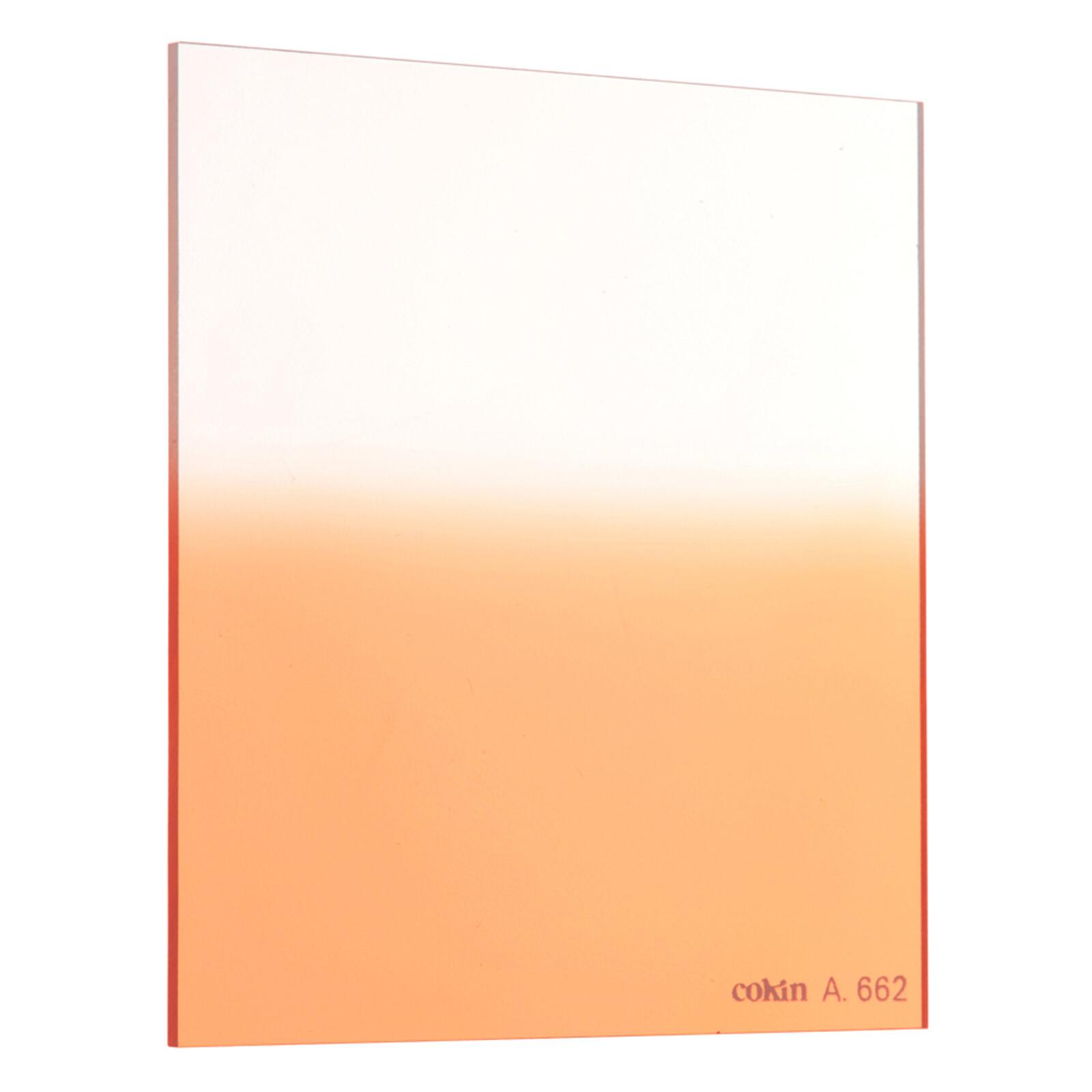 Cokin A662 Verlauf leuchtend Orange 1