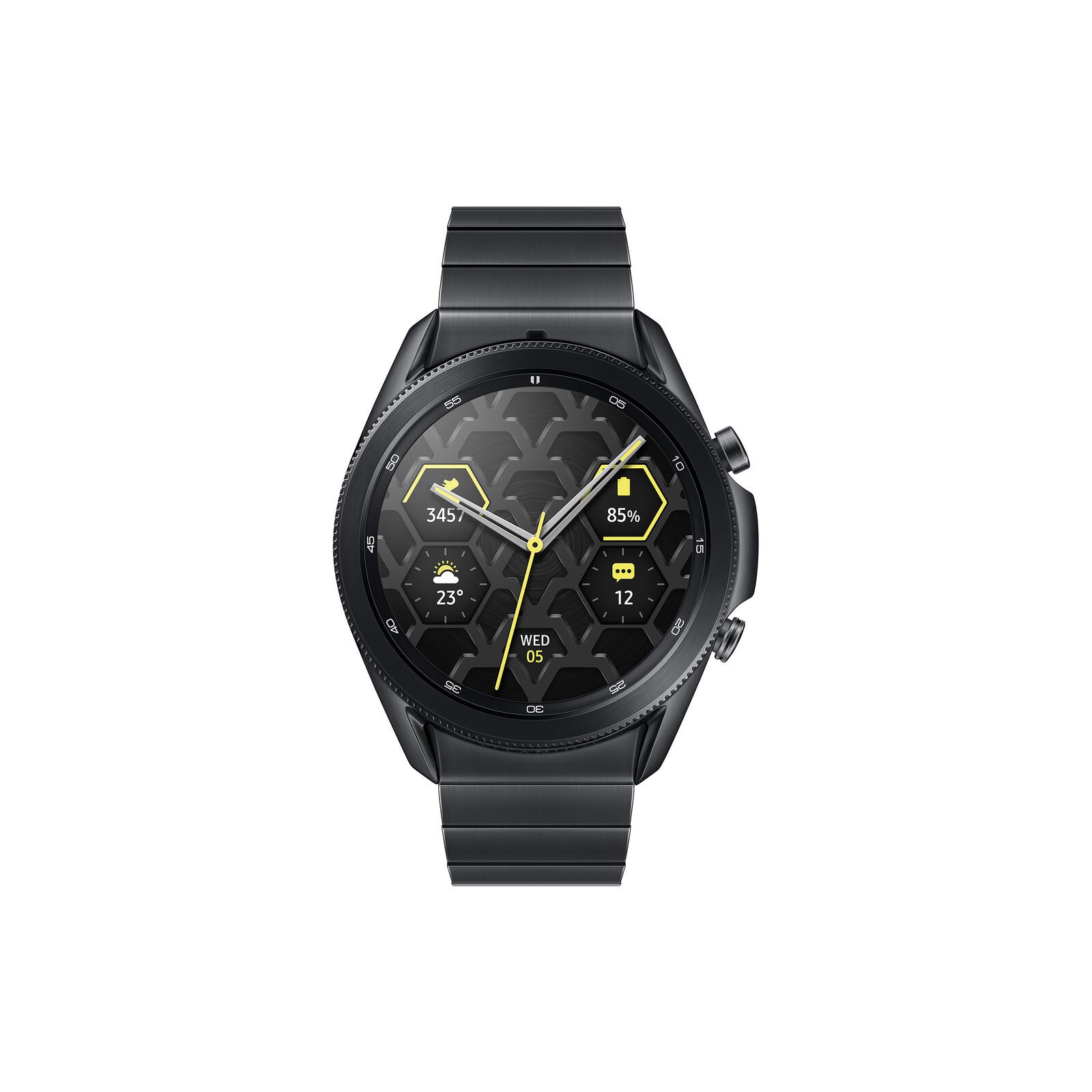Samsung Galaxy Watch 3 Titanium 45mm Mystic Black