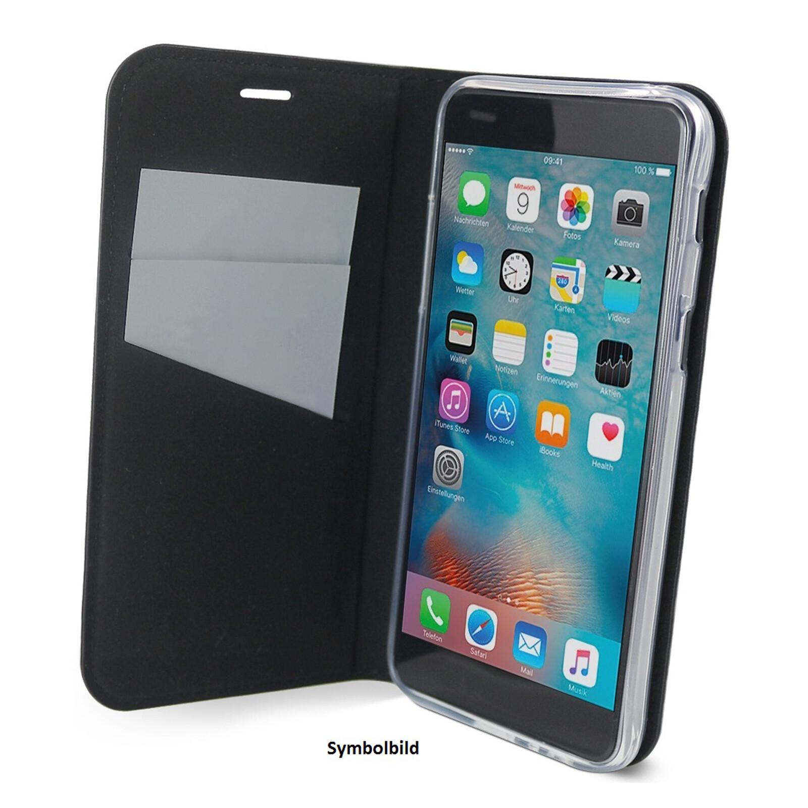 Axxtra Book Huawei Y6 2019 schwarz