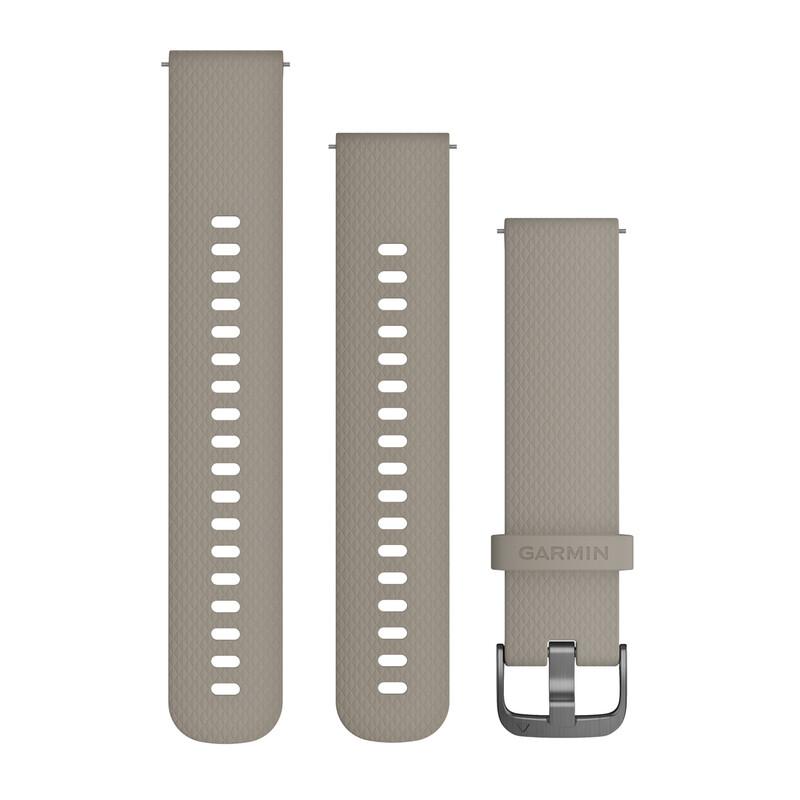 Garmin Uhrenarmband Vivoactive 20mm Silikon sand