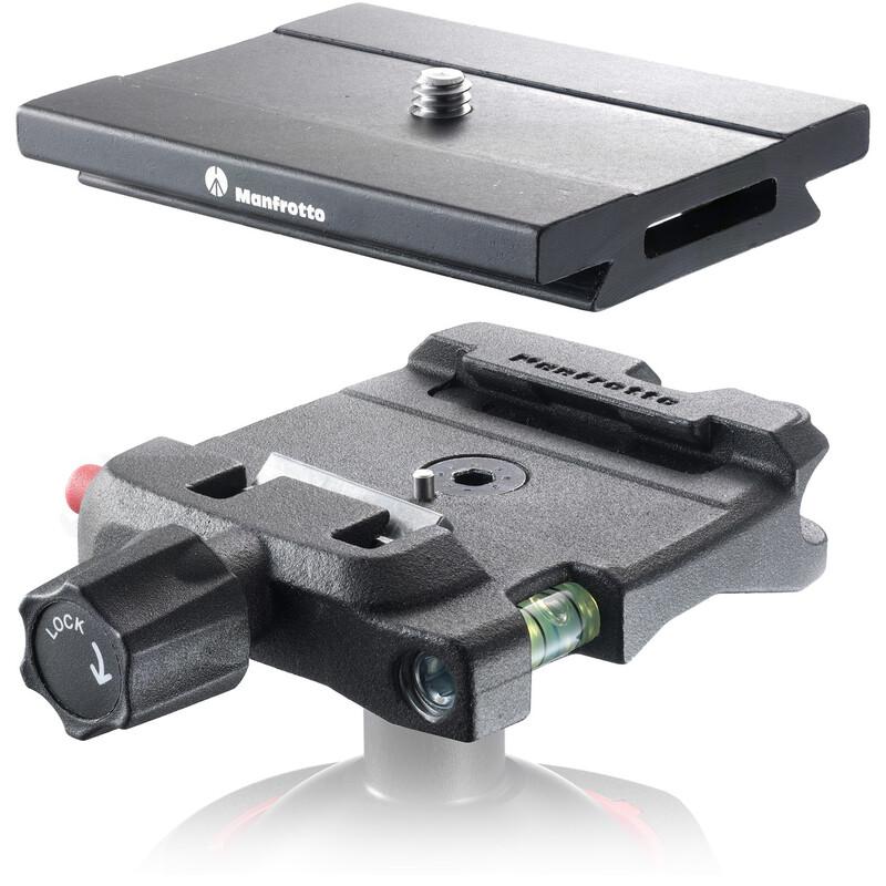 Manfrotto MSQ6 Schnellwechseladapter inkl. Wechselplatte