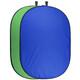 walimex pro Falthintergrund grün/blau, 200x230cm