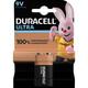 Duracell M3 6LR61 E-Block  Ultra Power 9V