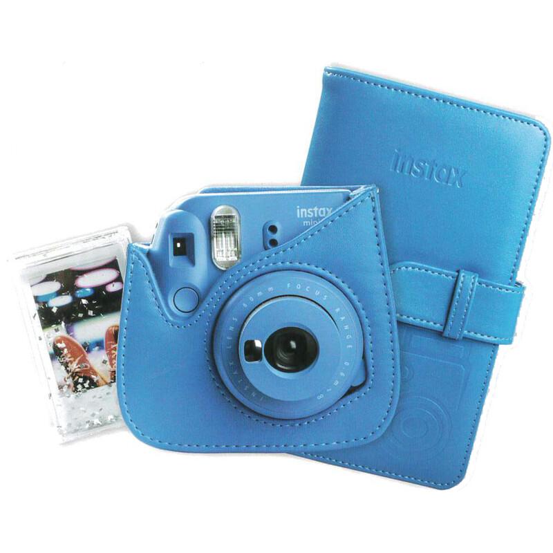 Fujifilm Instax Mini 9 Kit Tasche + Album + Rahmen